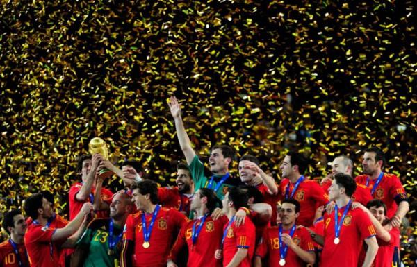 Испания получила за победу на ЧМ-2010 около 30 млн долларов