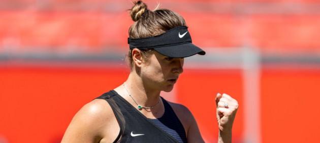 Свитолина одержала волевую победу на старте турнира в Истборне