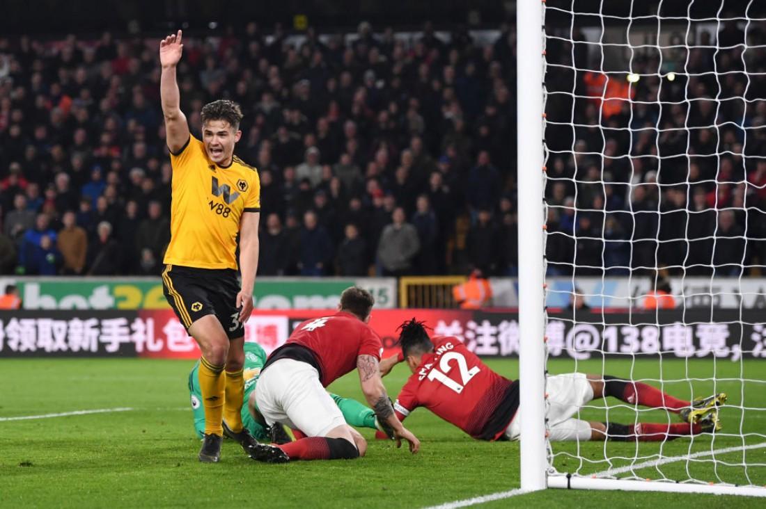 Вулверхэмптон - Манчестер Юнайтед: видео голов