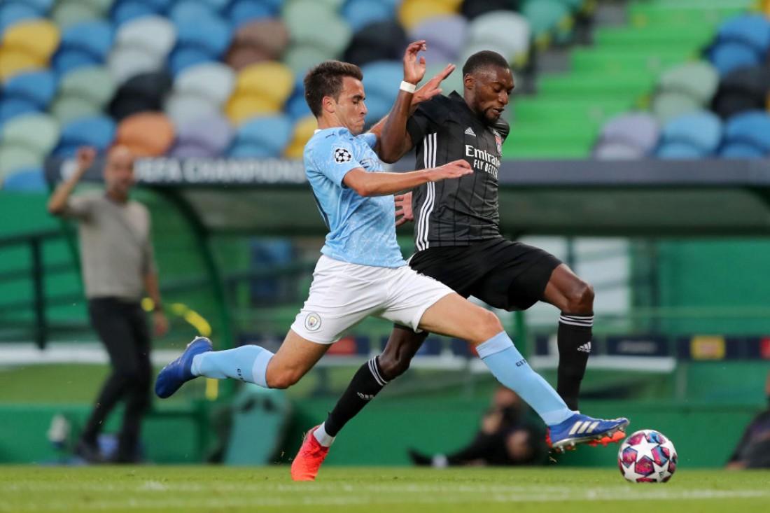 Манчестер Сити - Лион: видео голов и обзор матча