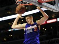 Украинцу Леню сломали нос в матче NBA