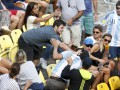 Болельщики устроили драку на теннисном матче в Рио
