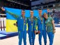 Украинские спортсмены завоевали первые медали на олимпийском фестивале в Баку