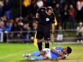 Итальянский арбитр получил дисквалификацию за драку с футболистом