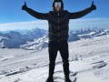 Экс-игрок Шахтера покорил высочайшую горную вершину России
