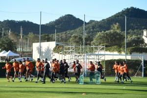 Шахтер провел первый тренировочный день на сборах в Испании