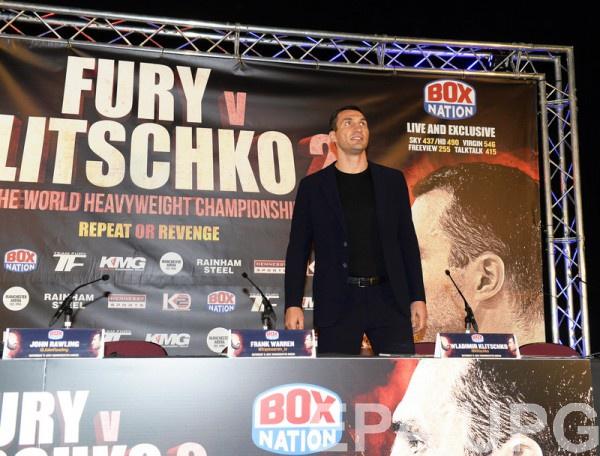 «Яникогда не лицезрел такого неактивного чемпиона как Тайсон Фьюри»— Владимир Кличко