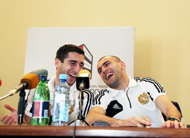 Бурная реакция футболистов сборной Армении на предложение