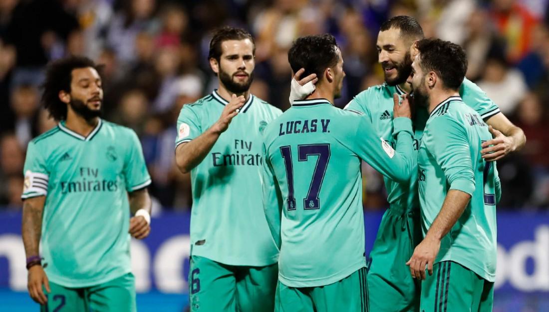 Сарагоса - Реал: видео голов и обзор матча
