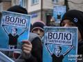 Одесситы поддержали семью Павличенко большим маршем (+ВИДЕО)