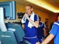 Вида вернулся из отпуска и тренируется с Динамо