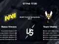 NaVi - Team Vitality: прогноз и ставки букмекеров на матч BLAST Premier Spring Series