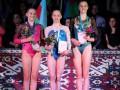 Украинские гимнасты взяли золото и бронзу на этапе Кубка мира