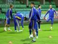 Без Блохина. Тренировка Украины в Кишиневе