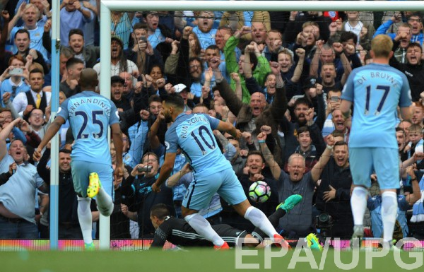 Манчестер Сити в тяжелом матче победил Сандерленд