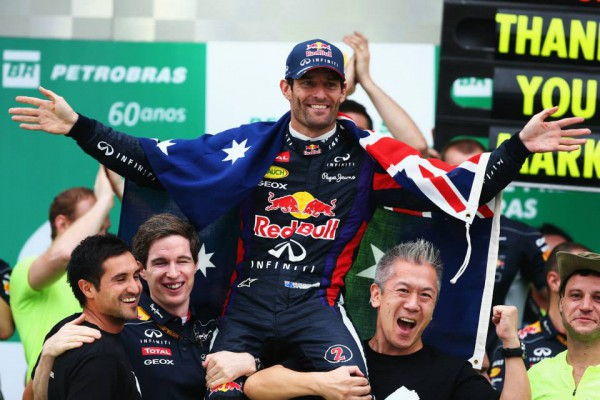 Марк Уэббер завершил свою карьеру в Формуле-1