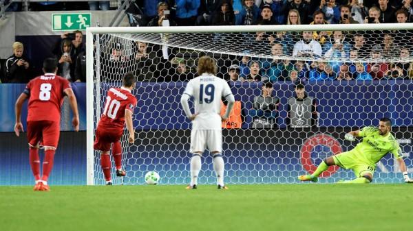 Коноплянка реализовал пенальти в матче против Реала