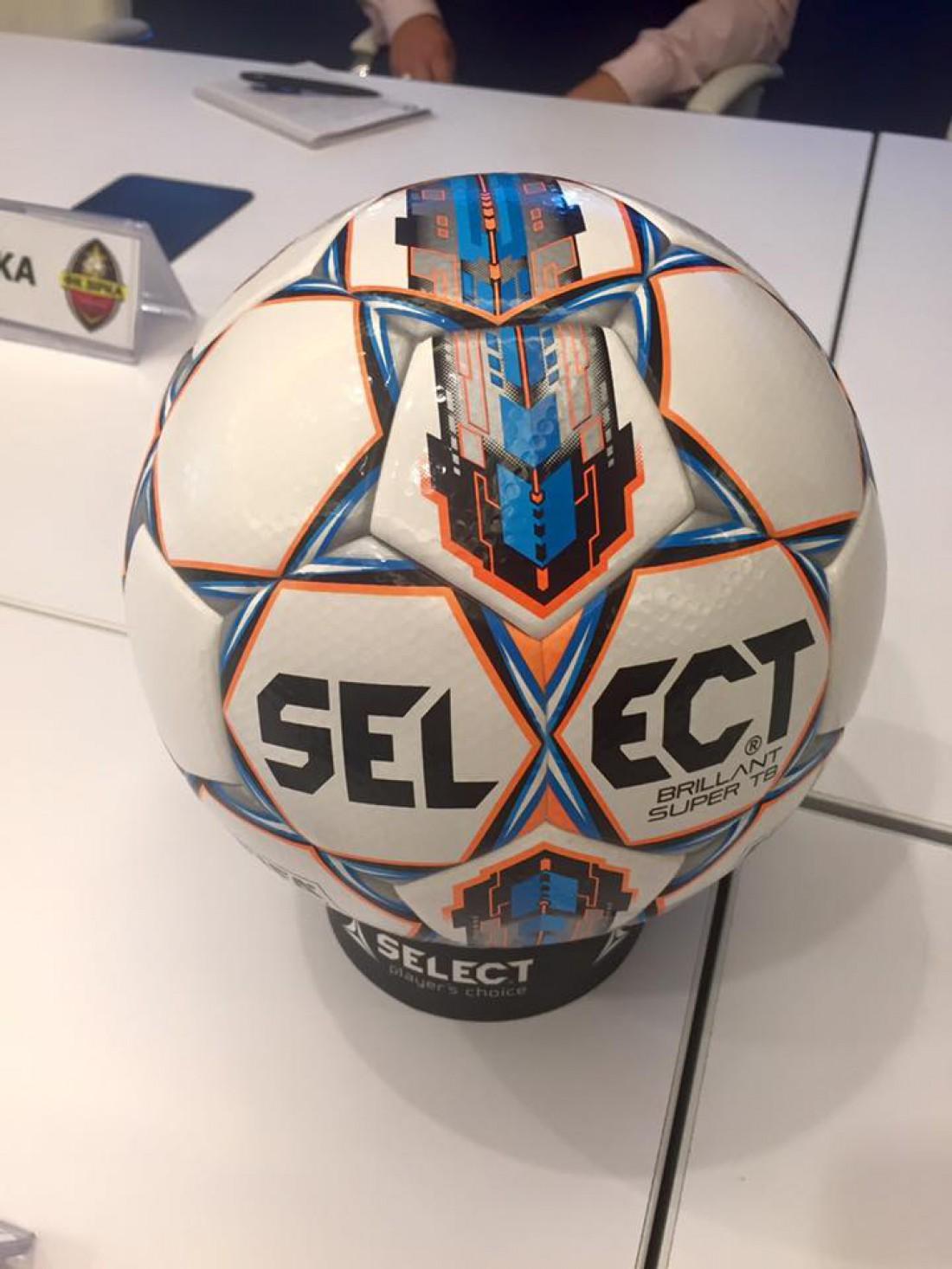 Новый мяч УПЛ