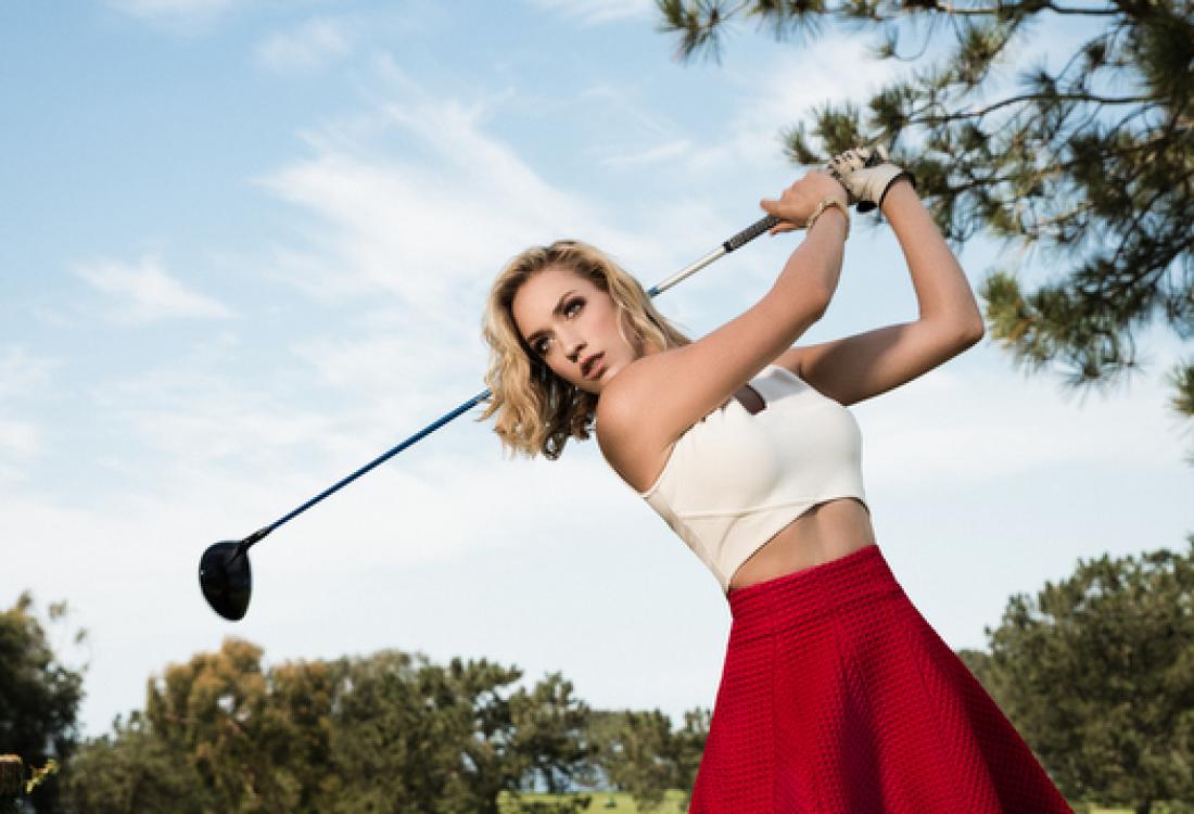 Американская гольфистка Пейдж Спиранак