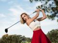 Красотка пятницы: Американская спортсменка, увидев которую ты научишься играть в гольф
