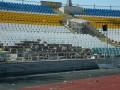 В Луганске стадион Зари подвергся обстрелу