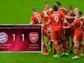 Бавария – Арсенал 1:1 видео голов матча Лиги чемпионов