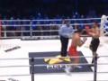Бой Кличко - Пулев: Видео нокдауна болгарина в первом раунде
