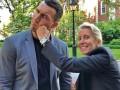 Кличко получил удар в челюсть от блондинки-профессора из Гарварда