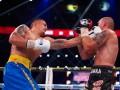 Драка двух чемпионов: Яркие фото боя Усик - Гловацки