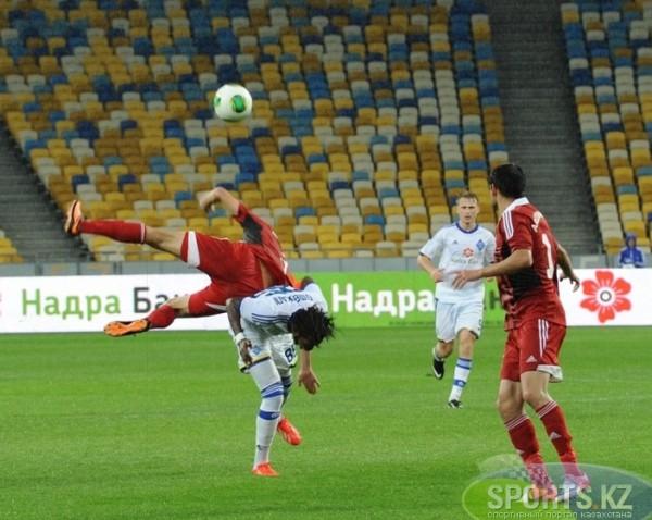 Динамо повергло Актобе