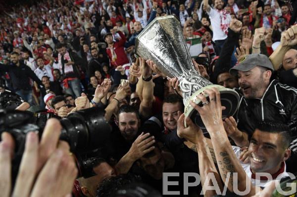 Испанский клуб вновь победил в Лиге Европы