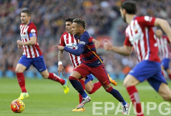 Где смотреть Атлетико - Барселона?