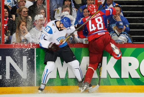 Россия уступила Финляндии