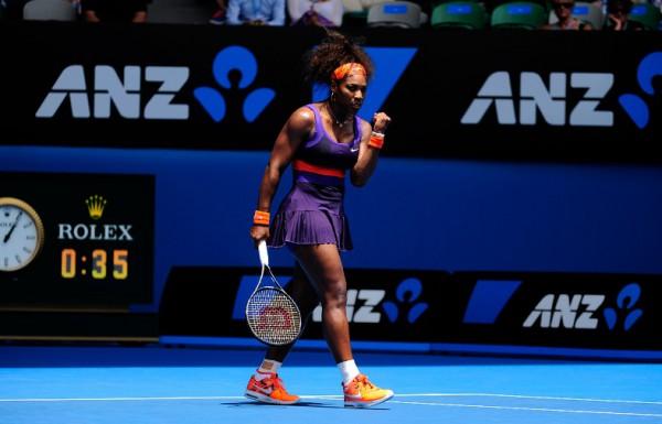 Серена Уильямс легко пробилась в третий круг Australian Open