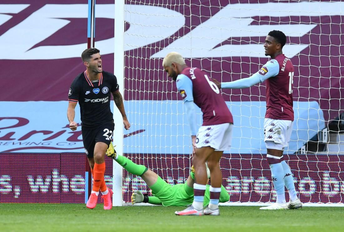 Астон Вилла - Челси: видео голов и обзор матча