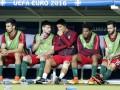 Роналду в порыве эмоций чуть не покалечил партнера по команде