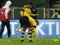 Фанаты Боруссии закидали поле теннисными мячами