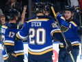 НХЛ: Сент-Луис в овертайме победил Сан-Хосе, Детройт разгромил Питтсбург