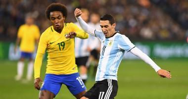 Аргентина - Бразилия 1:0 Видео гола и обзор матча
