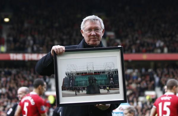 Алекс Фергюссон стал легендой Манчестер Юнайтед