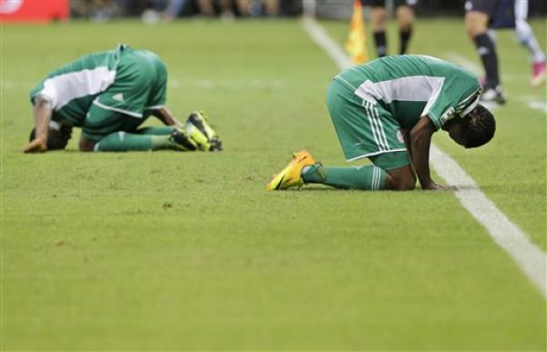 Сборная Нигерии разочарована поражением