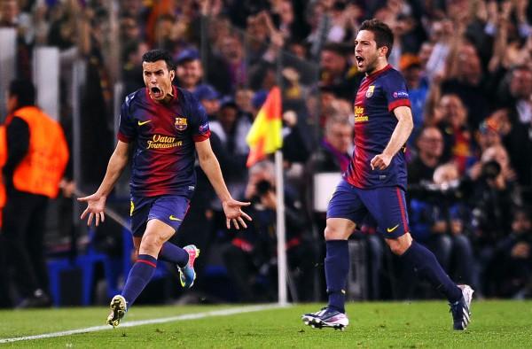 Педро выводит Барселону в полуфинал