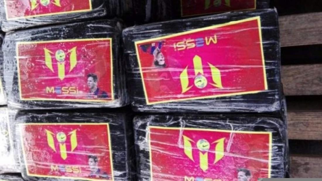 В Перу изъяли кокаин с фотографией Месси