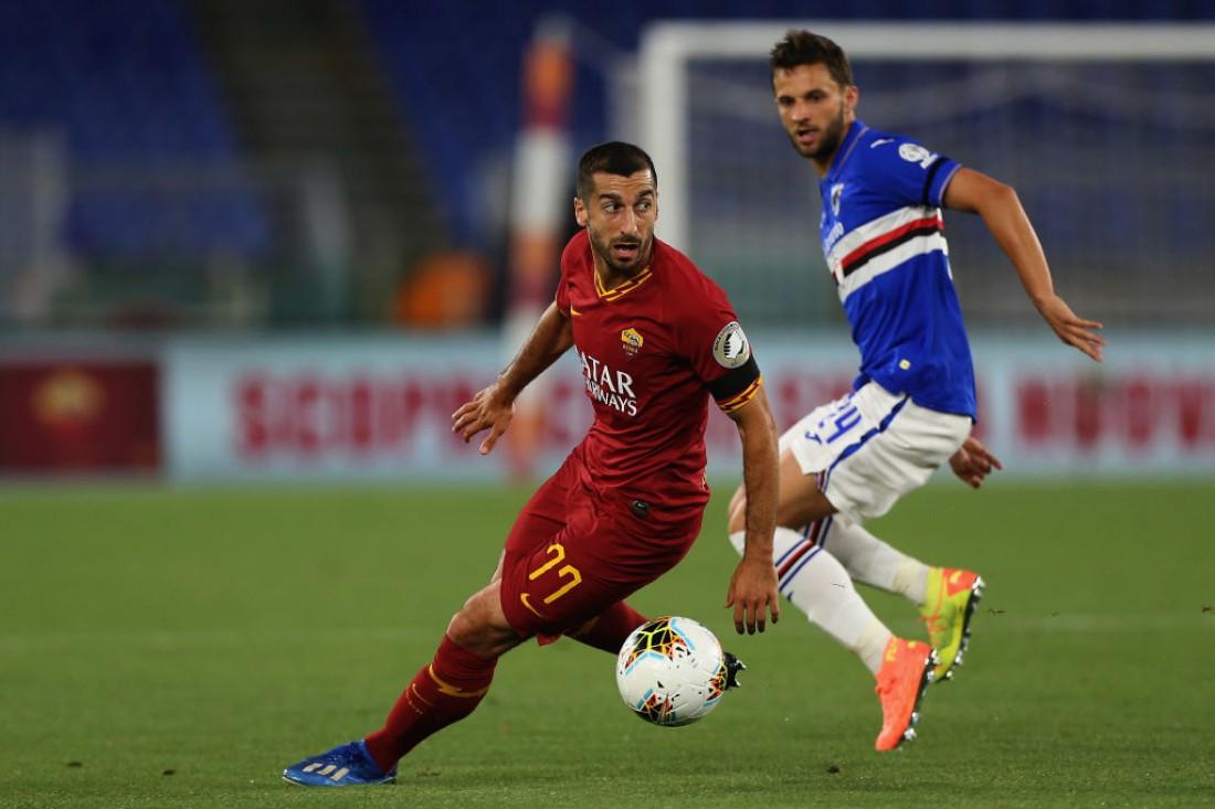 Рома - Сампдория: видео голов и обзор матча