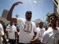 Голден Стэйт провел чемпионский парад в Окленде