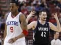 NBA: Трипл-дабл Игуодалы приносит Филадельфии победу над Минессотой