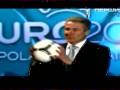 Мяч Евро-2012. Сергей Бубка презентует мяч Tango 12