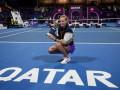Петра Квитова — Гарбинье Мугуруса: Видеообзор финала Qatar Total Open