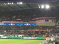 Фанаты Баварии забросали поле в Бельгии фальшивыми деньгами