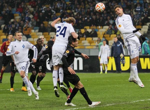 Футболисты Динамо отчаянно боролись в матче с Генгамом
